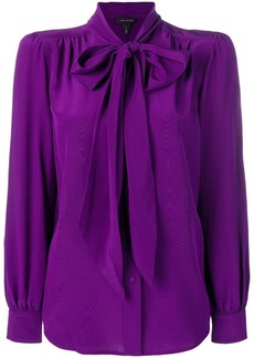 Marc Jacobs neck-tied fitted blouse