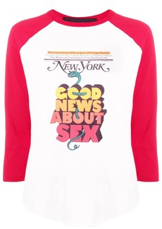 Marc Jacobs New York Magazine jersey top