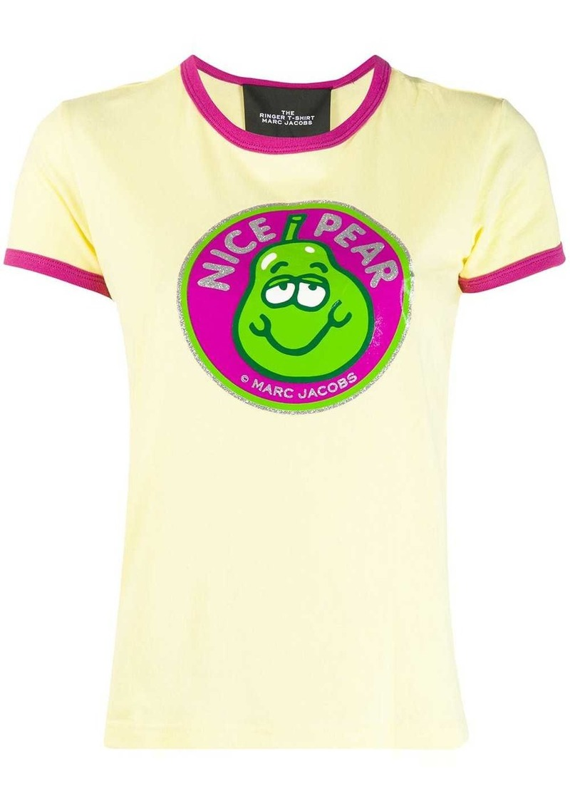 Marc Jacobs The Ringer Nice Pear print T-shirt