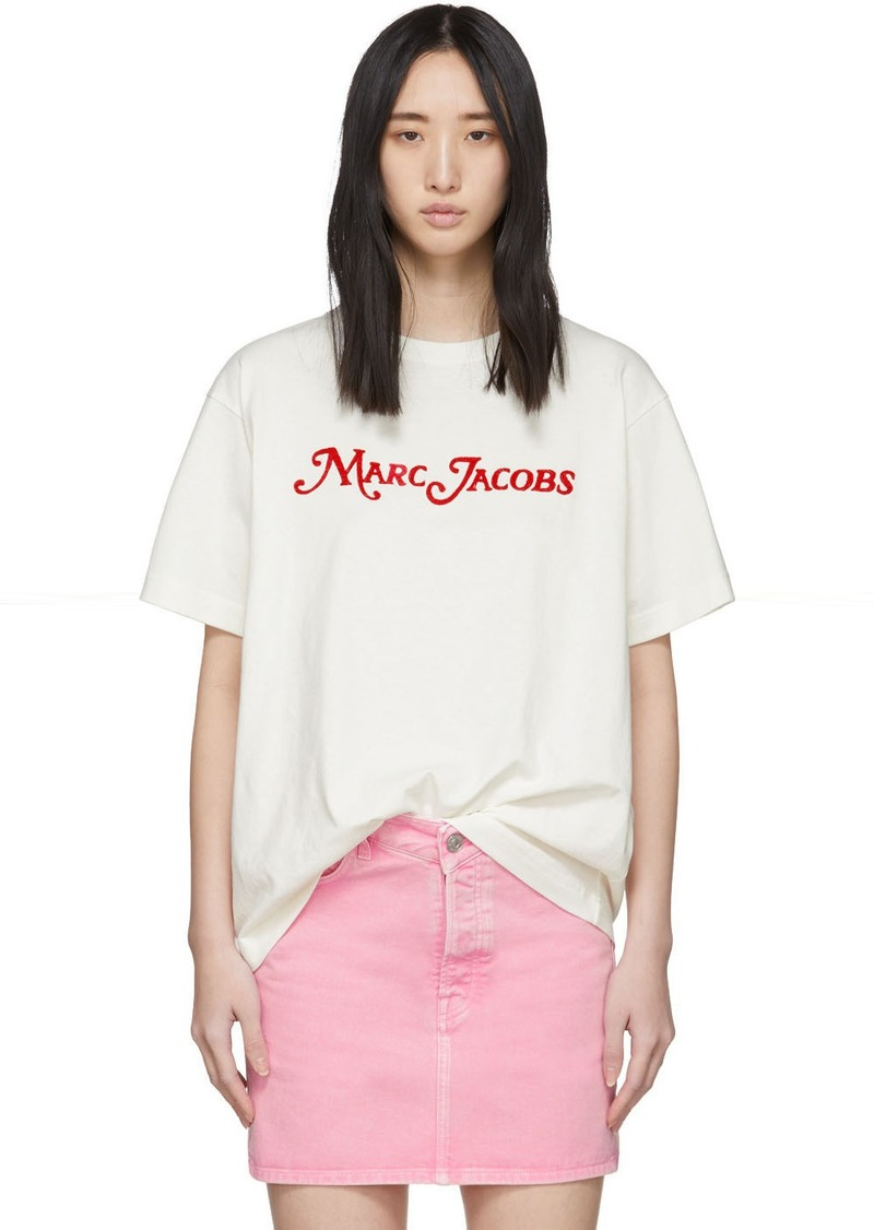 Marc Jacobs Off-White 'The Logo' T-Shirt