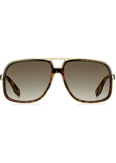 Marc Jacobs oversized aviator sunglasses