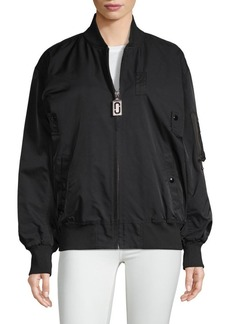 Marc Jacobs Oversized Bomber Jacket
