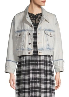Marc Jacobs Oversized Cropped Denim Jacket