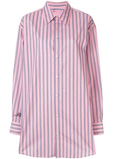 Marc Jacobs oversized pinstripe shirt