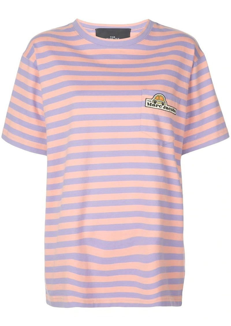 Marc Jacobs oversized striped T-shirt