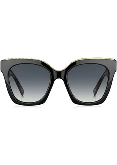 Marc Jacobs oversized tinted sunglasses
