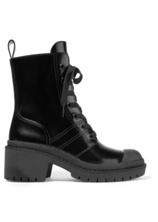 Marc Jacobs Patent-leather Ankle Boots