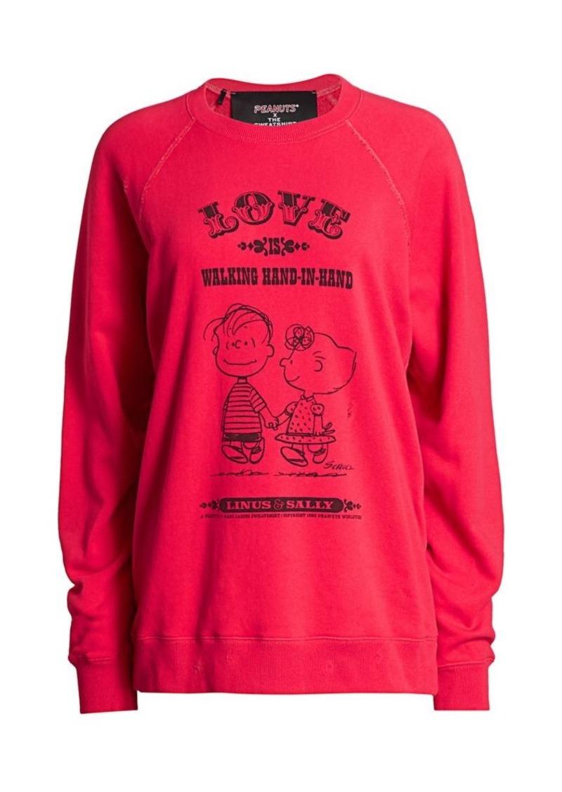 Peanuts® x Marc Jacobs The Love Cotton Sweatshirt
