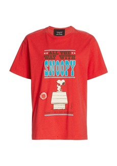 Peanuts x Marc Jacobs The Snoopy Sits Graphic T-Shirt