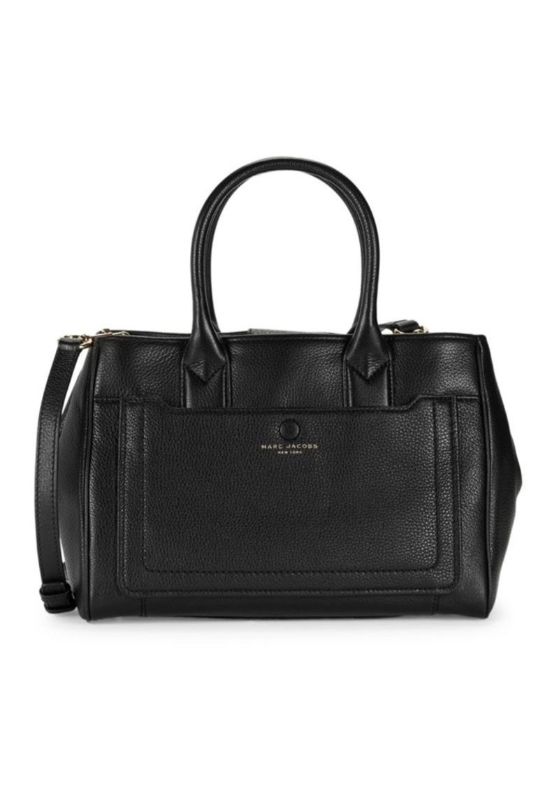 Marc Jacobs Pebbled Leather Briefcase Tote