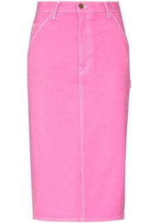 Marc Jacobs high-waist pencil denim skirt