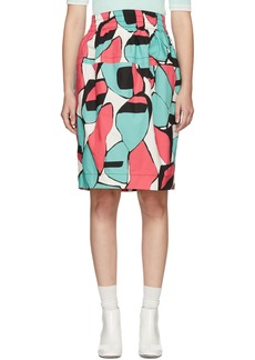 Marc Jacobs Pink Colorblocked Skirt