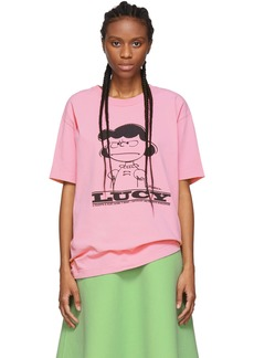 Marc Jacobs Pink Peanuts Edition Lucy T-Shirt
