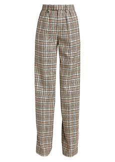 Marc Jacobs Runway Pleat Front Plaid Pants