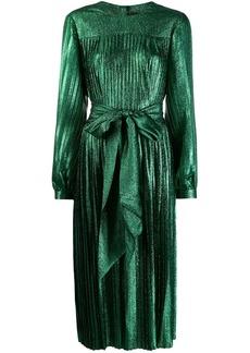 Marc Jacobs pleated lamé dress