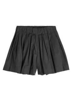 Marc Jacobs Pleated Shorts with Cotton