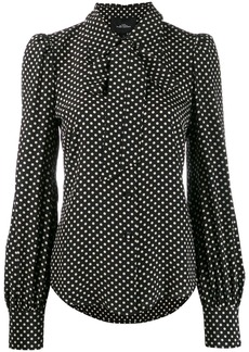 Marc Jacobs polka-dot blouse