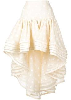 Marc Jacobs polka dot peplum skirt