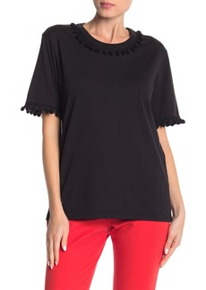Marc Jacobs Pom-Pom Trim T-Shirt