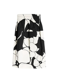 Marc Jacobs Printed Cotton Skirt