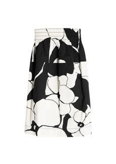 Marc Jacobs Printed Cotton Skirt