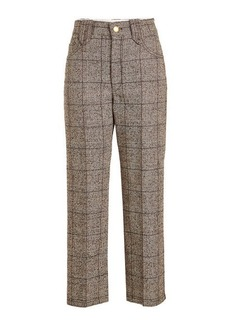 Marc Jacobs Printed Pants with Wool and Cotton