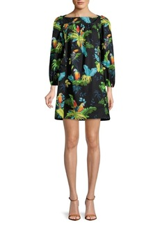 Marc Jacobs Printed Shift Dress
