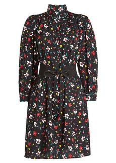 Marc Jacobs Printed Silk Shirt Dress