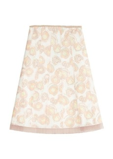 Marc Jacobs Printed Silk Skirt