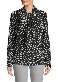 Marc Jacobs Printed Silk Top