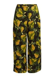Marc Jacobs Printed Wide Leg Pants