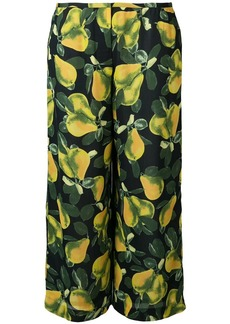 Marc Jacobs printed wide-leg trousers