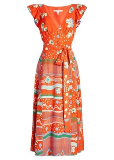 Marc Jacobs Printed Wrap Dress