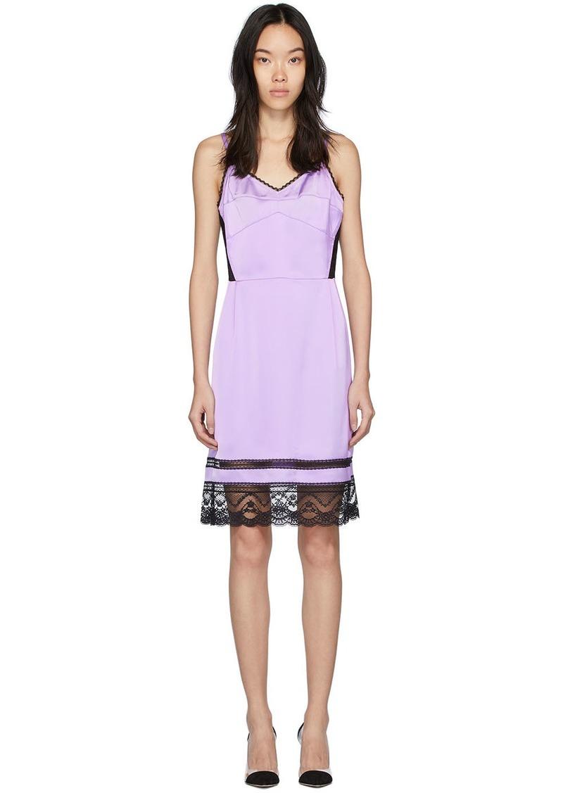 Marc Jacobs Purple 'The Liz Slip' Dress