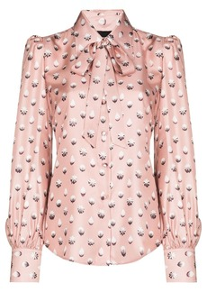 Marc Jacobs pussy-bow silk blouse
