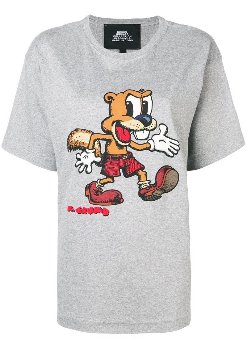 Marc Jacobs R. Crumb print T-shirt