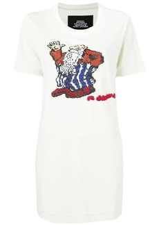 Marc Jacobs R.Crumb Mr Natural bead embellished T-shirt