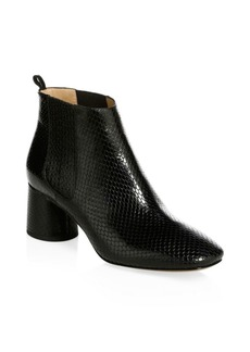 Marc Jacobs Rocket Embossed Leather Chelsea Boots