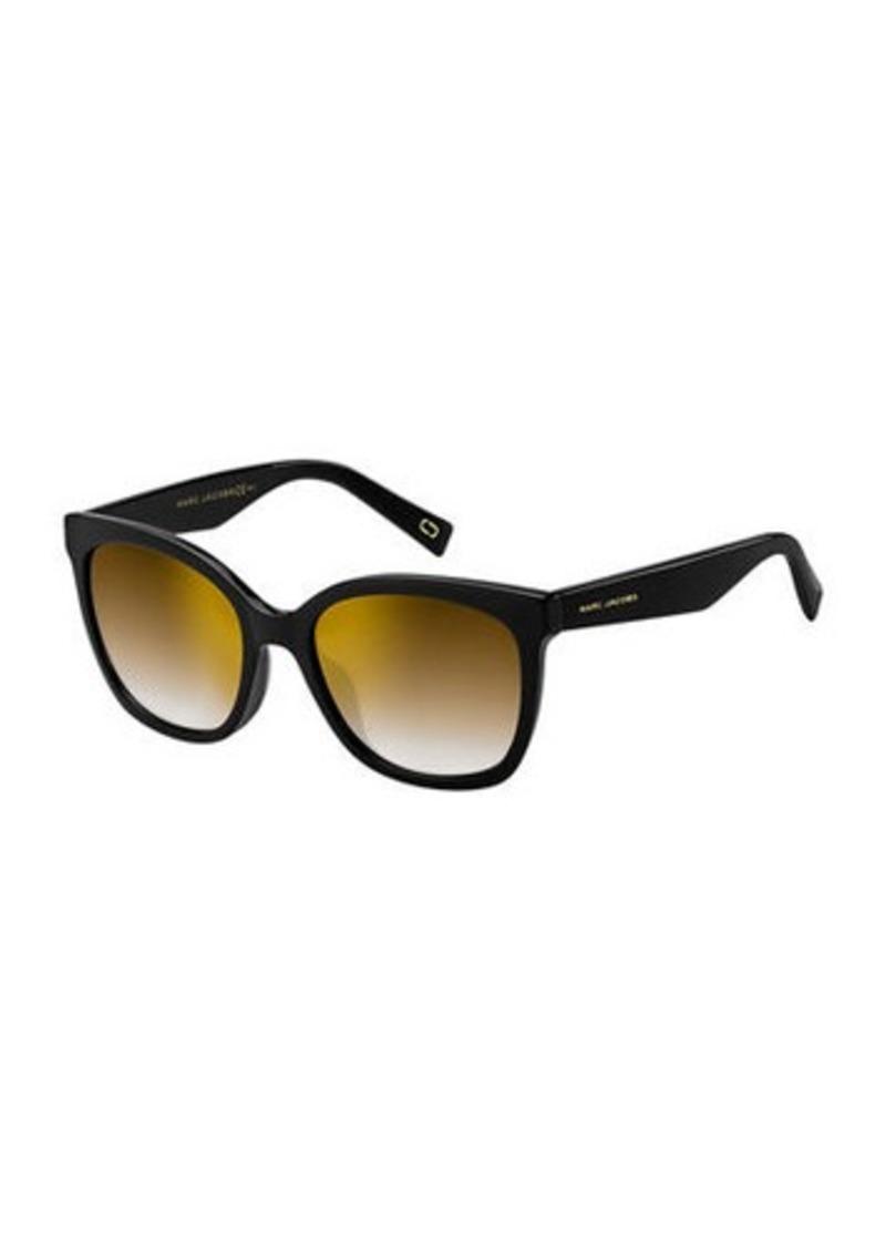 Marc Jacobs Round Mirrored Acetate Sunglasses