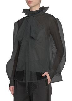 Marc Jacobs Runway Blouse Bow-Neck Blouse
