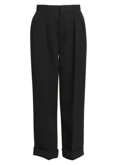 Marc Jacobs Runway Cuffed Wool Twill Pants