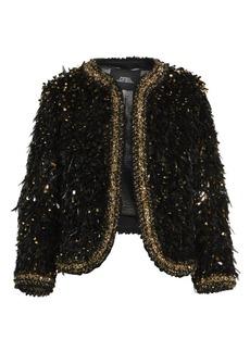 Marc Jacobs Runway Embellished Wool Bouclé Jacket