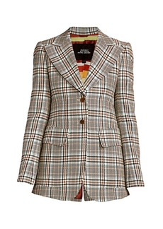 Marc Jacobs Runway Long Slim Wool Blazer