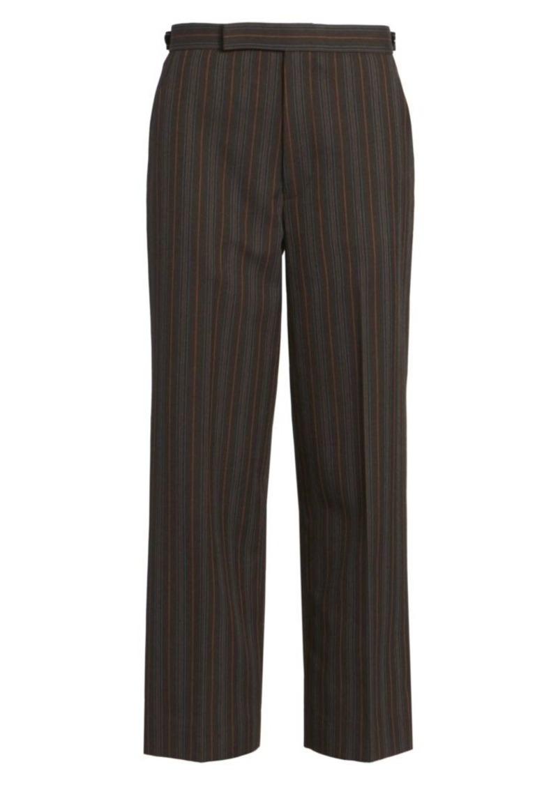 Marc Jacobs Runway Multi-Stripe Straight-Leg Wool Pants