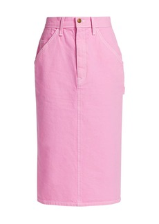 Marc Jacobs S. Ray X Tailored Workwear Long Cotton Skirt