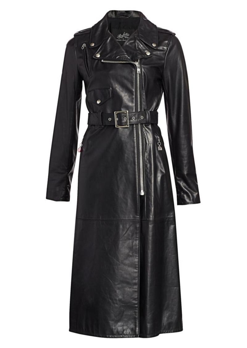 Marc Jacobs Schott x The Perfecto Leather Coat