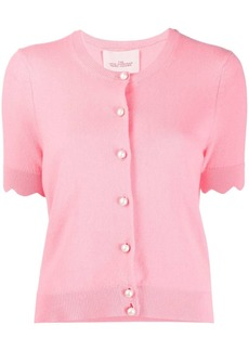 Marc Jacobs short sleeved cashmere cardigan