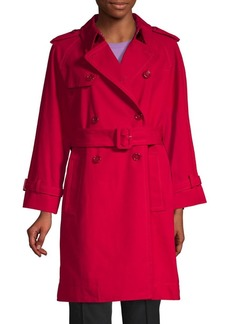 Marc Jacobs Shruken Cotton Trench Coat