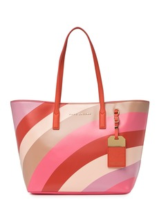 Marc Jacobs Sidekick Wave Print Leather Tote Bag