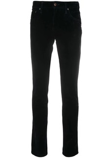 Marc Jacobs skinny logo patch jeans